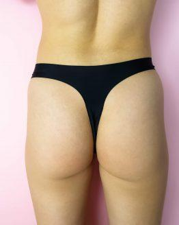 Czarne stringi menstruacyjne Trust underwear